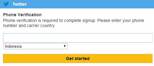 Cara Mengatasi Verifikasi HP Saat Membuat IDs Twitter