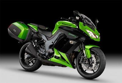 2012 Kawasaki Z1000SX Tourer bike