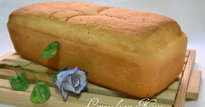 Cocinando con kisa pan blanco en molde sin gluten for Pane con kitchenaid