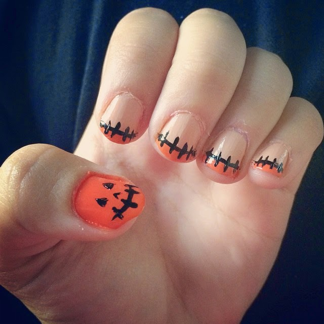 10 idee nail art per halloween facili e veloci. Black Bedroom Furniture Sets. Home Design Ideas
