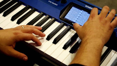 dan piano dien Casio PX 560