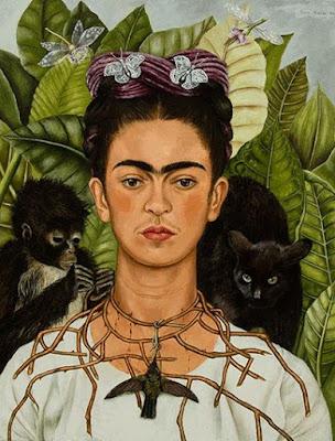 frida kahlo at new york botanical gardens http://schulmanart.blogspot.com/2015/06/summer-bucket-list-6-must-see-nyc-art.html