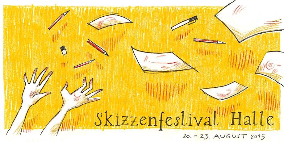 Skizzenfestival 2015 in Halle (Saale)
