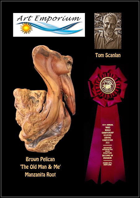 Canadian Artist Tom Scanlan, carving, Ward World Wildfowl Carving, Ocean Cily Maryland