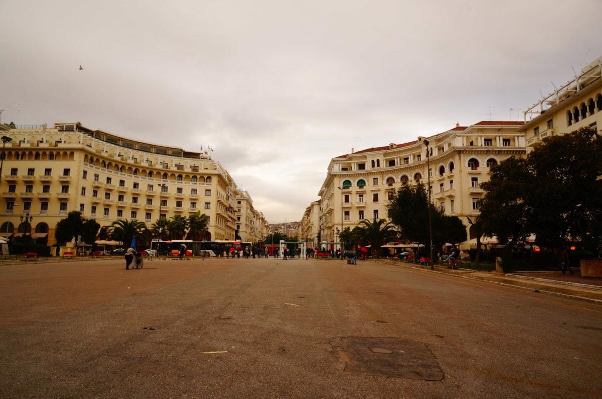 Площадь-Аристотеля-Салоники