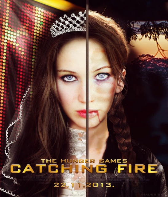 Catching Fire Movie Poster 2013
