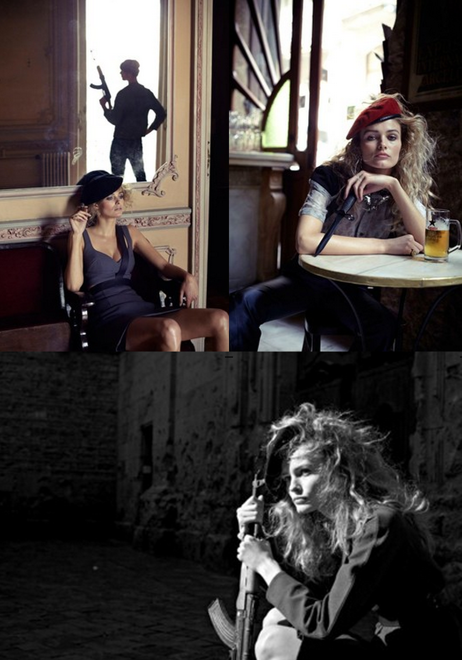 Edita Vilkeviciute by Nathaniel Goldberg for V Spain #16