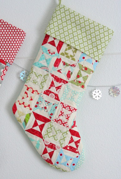 Free Quilt Pattern For Christmas Stocking : Free pattern day! Christmas stockings Quilt Inspiration Bloglovin