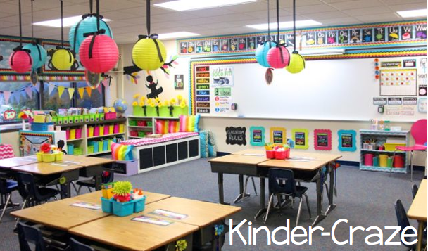 Catholic kindergarten classroom