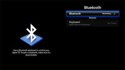 Bluetooth Keyboard Apple Tv