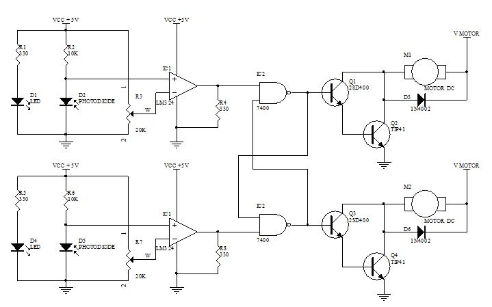 Skema LTA/LF Analog tanpa Relay
