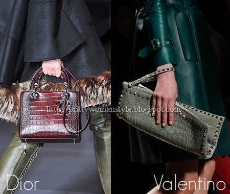 малки чанти от крокодилска кожа