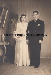 D. Tomás González Morcillo y Dª. Maria del Rosario Solás Reca