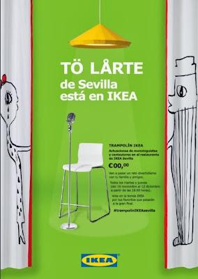 Concurso Trampolín Ikea en Ikea Sevilla