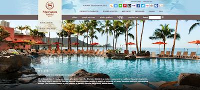 Sheraton Waikiki Hotel :シェラトンワイキキホテルの英語サイト
