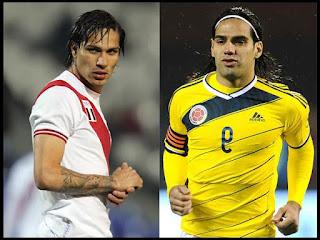 erú vs Colombia, Grupo C, Copa amérioca 2015