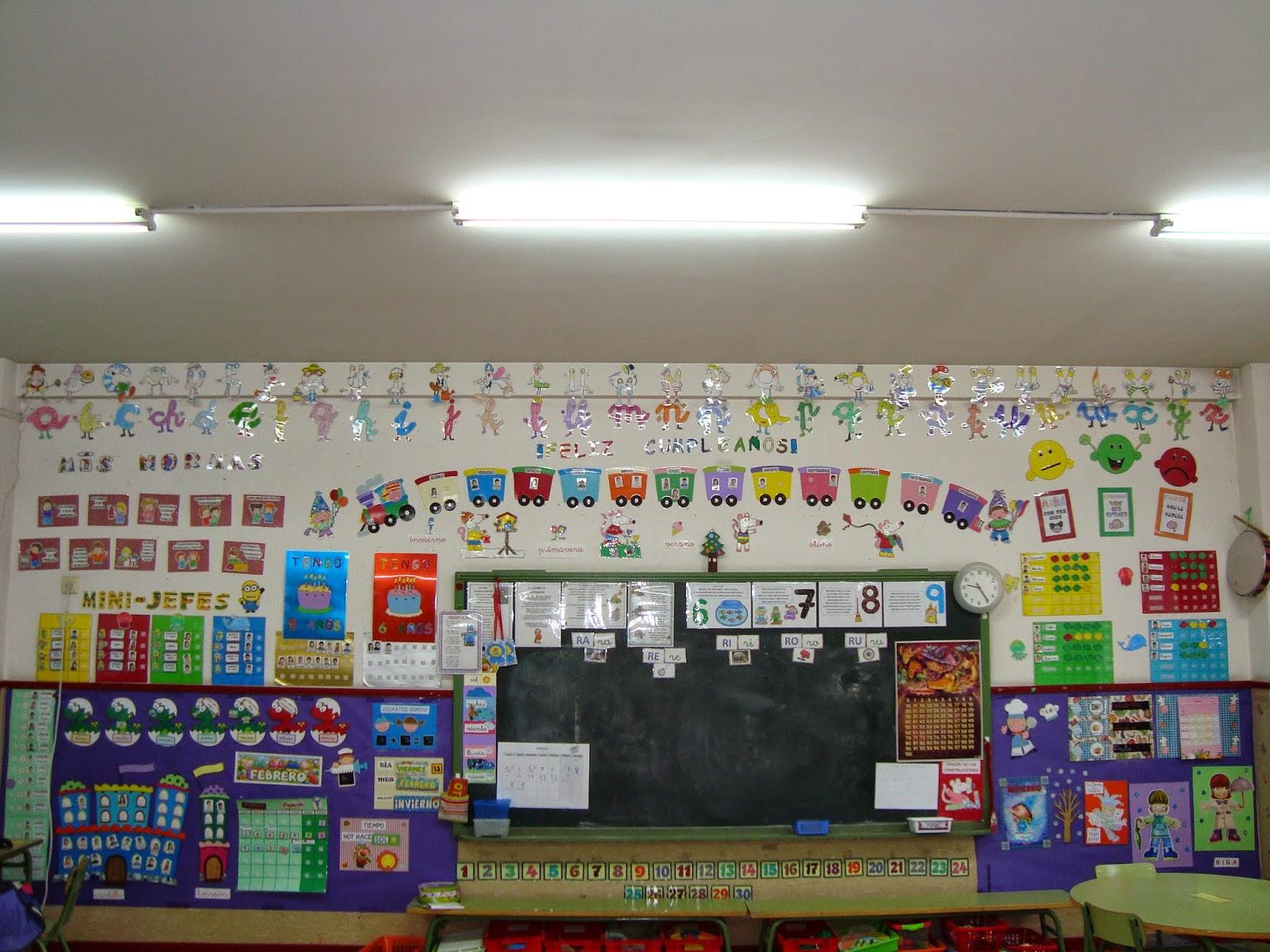 Plastificando ilusiones las decoraciones del aula for Decoracion de grado