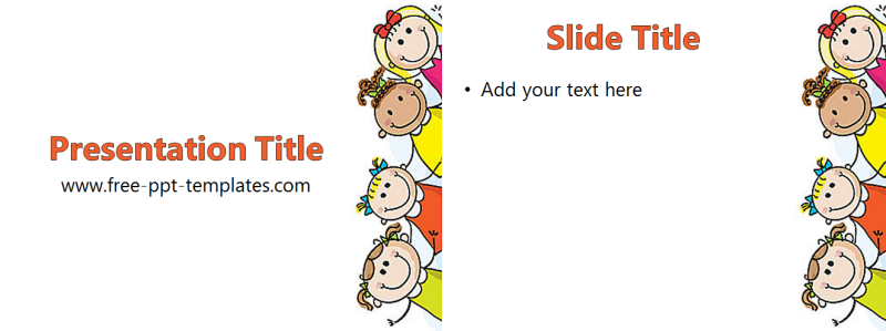 free powerpoint templates for children free children powerpoint