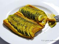 Tartelettes épicées aux courgettes