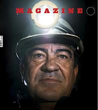 El presidente de Asturias Alvarez Cascos de Minero