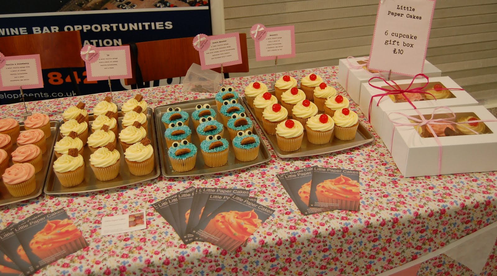 Cake Ideas For Cake Stall : Little Paper Cakes: The Lowry Outlet Mall Cupcake Stall