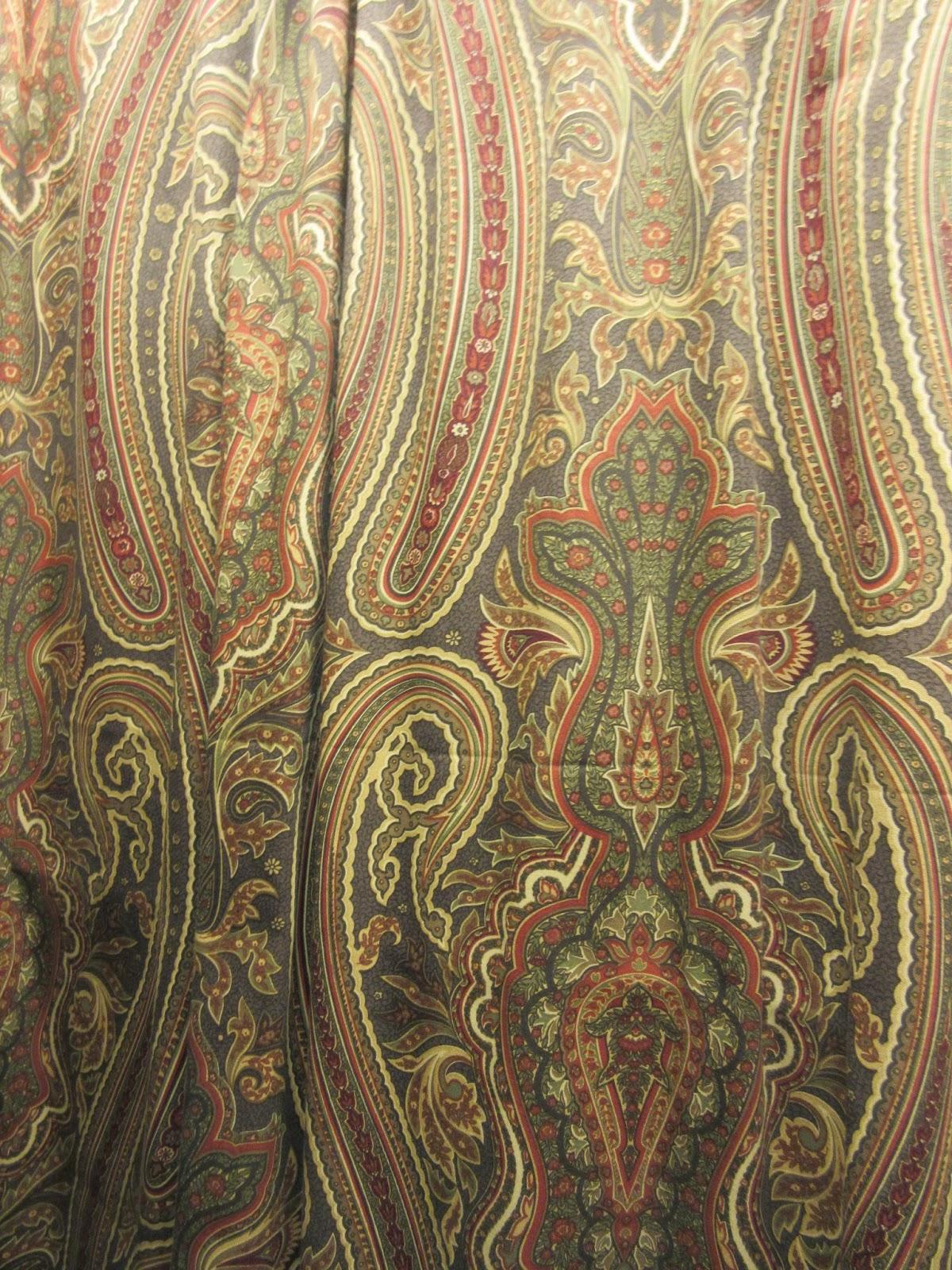 Annaline Interior Design Wzory Paisley A Aran Acja Wn Trz