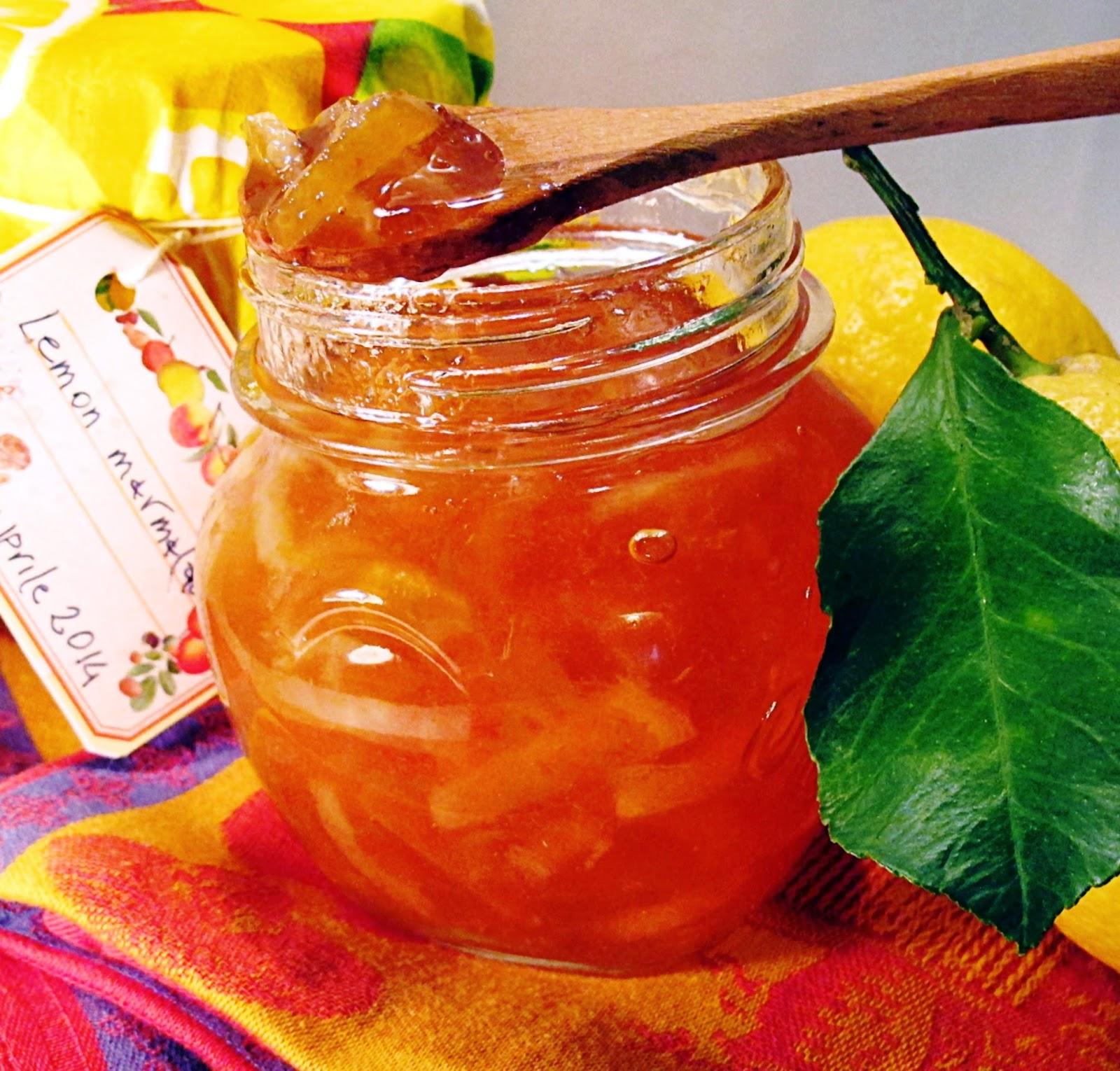 marmellata di limoni metodo inglese, ovvero lemon marmalade