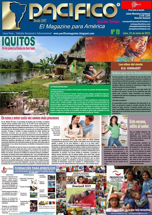 Revista Pacífico Nº 19 Turismo
