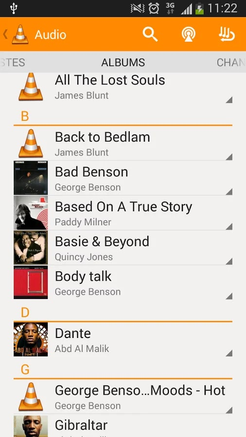 VLC for Android v1.0.1