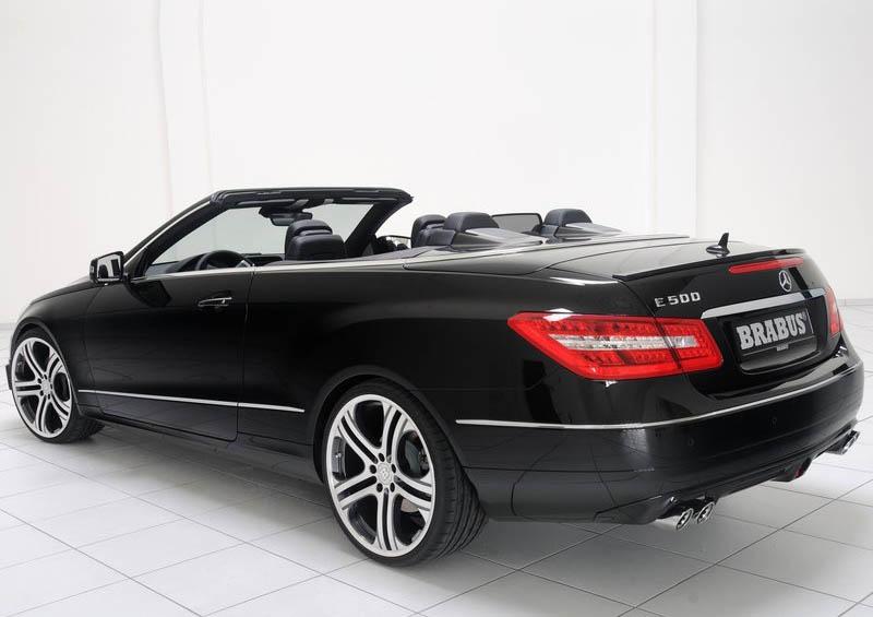 Power cars brabus mercedes benz e class cabriolet 2011 for 2011 mercedes benz e class convertible