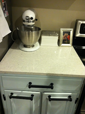 New Silestone Kitchen Countertops {rainonatinroof.com} #kitchen #makeover #countertop #silestone