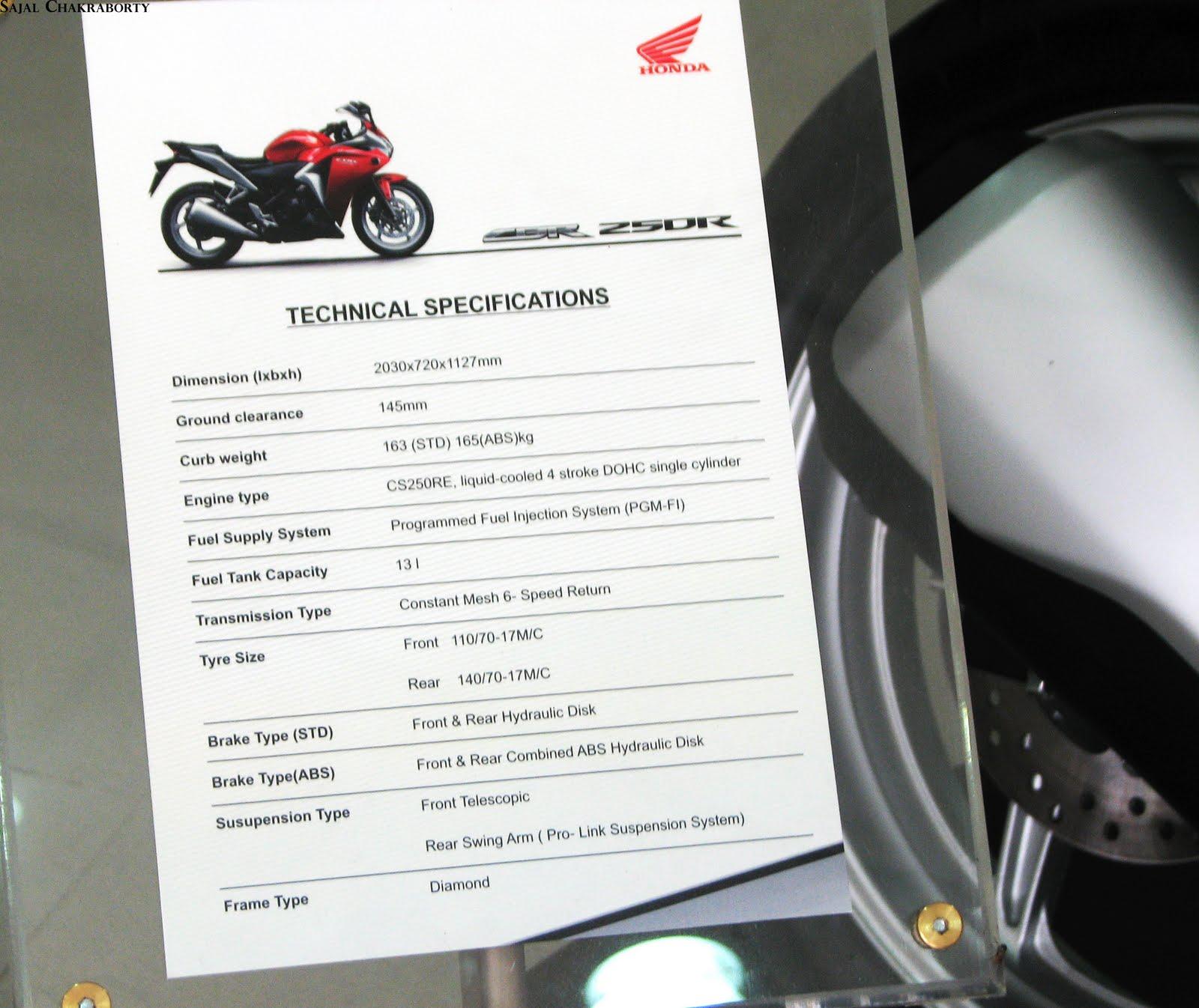 2011 Honda CBR 250R 13