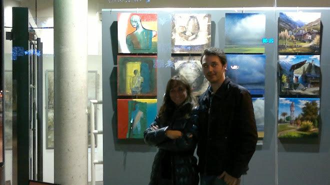 Exposició col·lectiva 40x40cm desembre 2011
