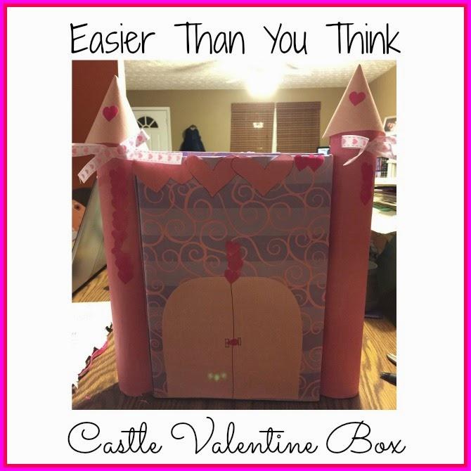 DIY Castle Valentine Box