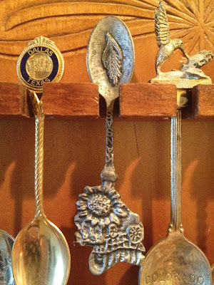 Upside down Kansas spoon