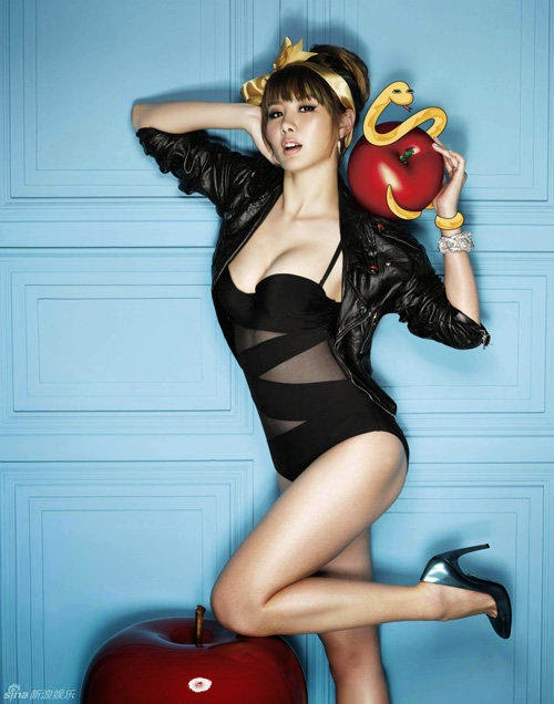 9 sexiest boobs Taiwan showbiz
