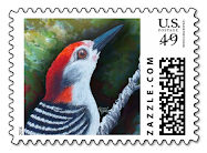 Red Brings Hope Stamp
