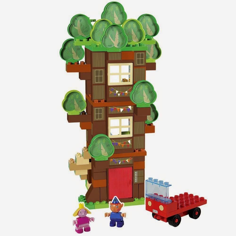TOYS : JUGUETES - BEN & HOLLY  Árbol de los Elfos | Juego de construcción  Producto Oficial | Simba | A partir de 3 años