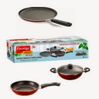 Snapdeal : Anjali Fab Non-stick Induction Base Cookware Gift Set- 3 Pcs for Rs.849 only