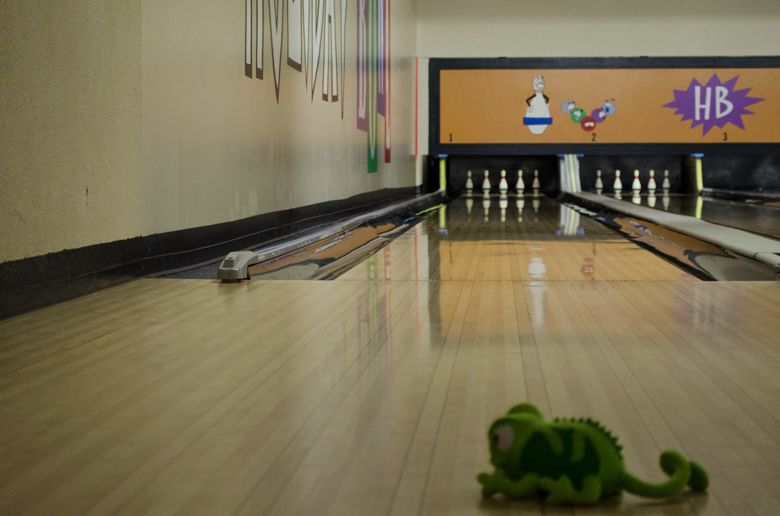 The Adventures of Pascal at the Bowling Alley