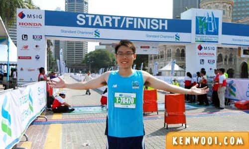 kl marathon 2012 runner