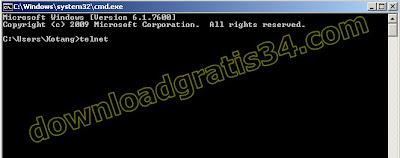 telnet-cmd-windows