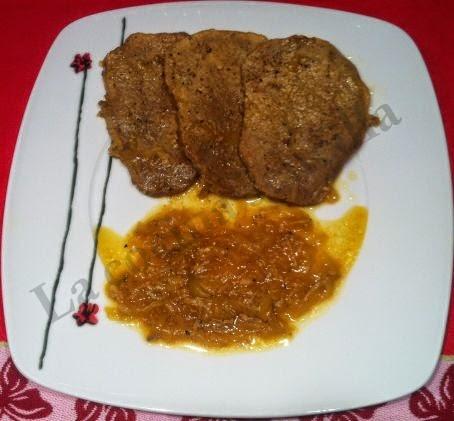 Las recetas de juanito filetes de ternera en salsa de cebolla - Filetes de ternera en salsa de cebolla ...