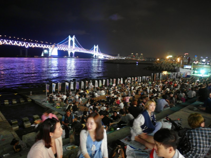 Gwanganri GwangAn Bridge Busan Korea lunarrive Travel blog Singapore