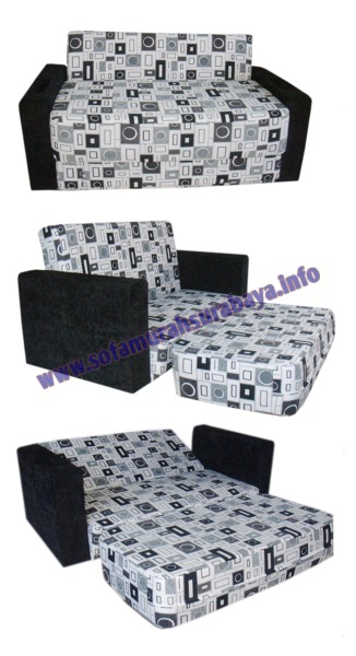 Toko sofa di surabaya jual sofa bed surabaya dwr sb 06 for Jual sofa bed