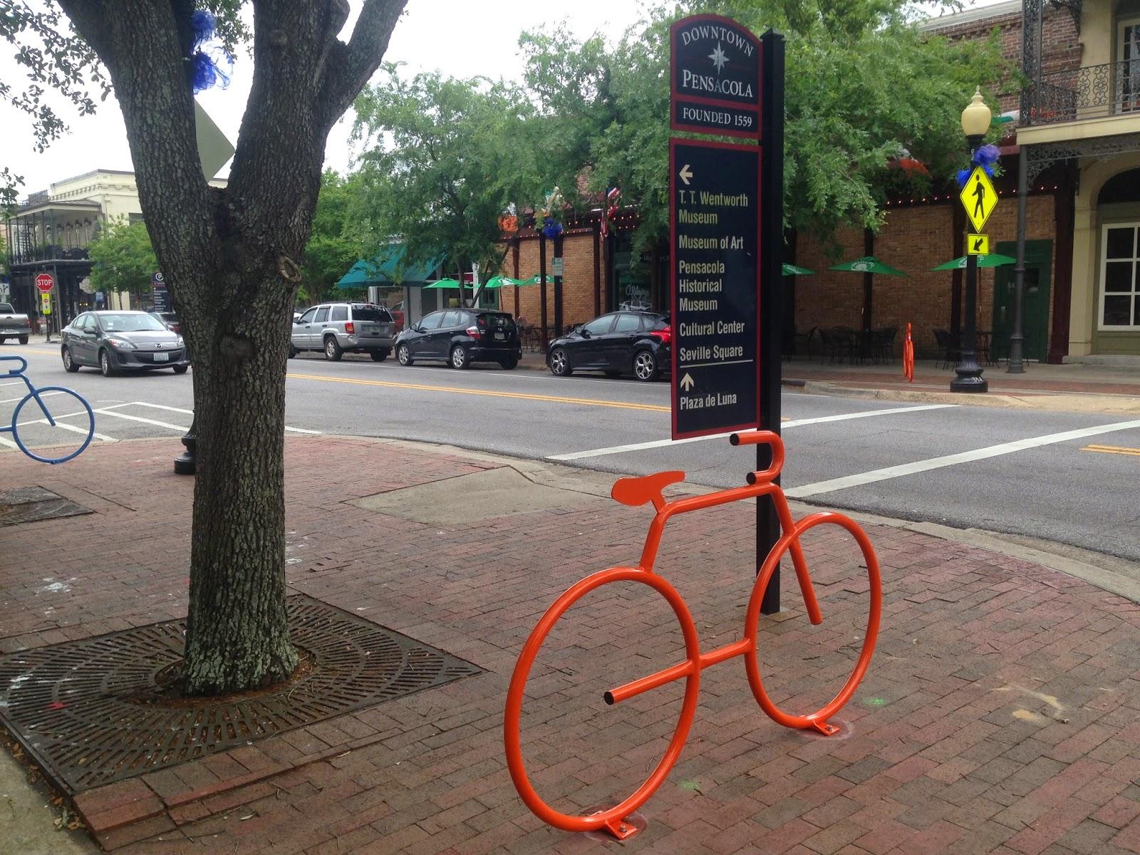 Downtown Pensacola FL Palafox St.