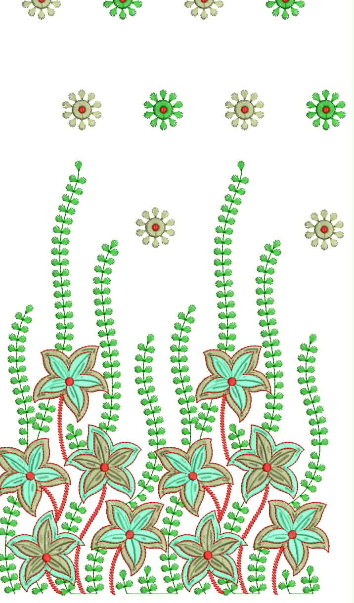 Hand Embroidery Designs For Sarees Border Tattoo Pictures
