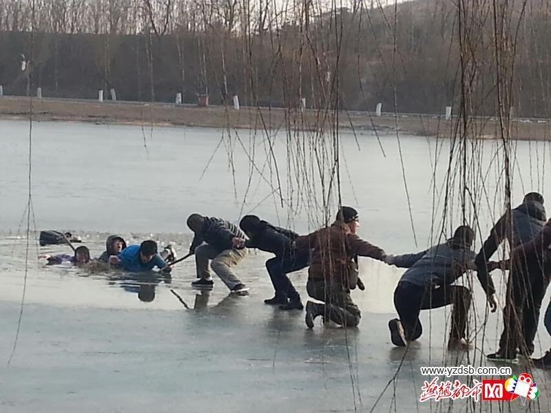 Studentesse salvate dal ghiaccio