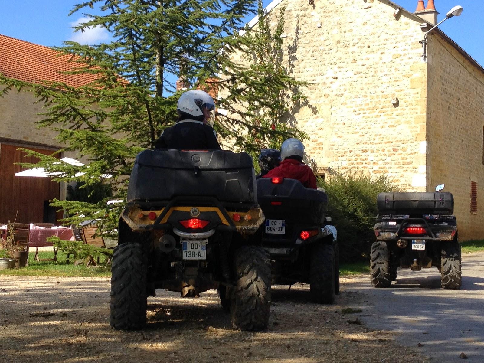 Randonnée Quad avec étape repas du Terroir en Ardennes