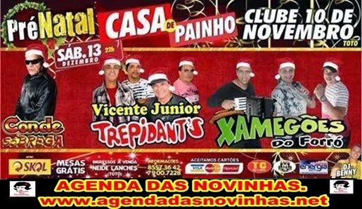PRÉ NATAL CASA DE PAINHONO CLUBE 10 DE NOVEMBRO.